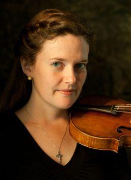 Fiona Hughes, baroque violin