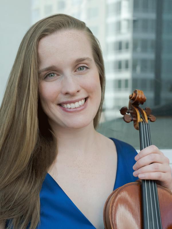 Natalie Kress, baroque violin
